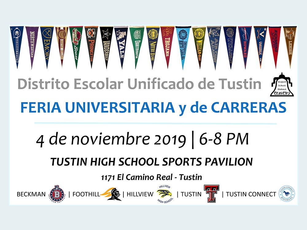 FERIA UNIVERSITARIA y de CARRERAS 4 de noviembre 2019